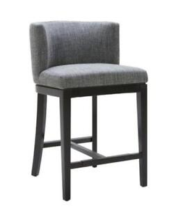 COUNTER HEIGHT STOOLS with BACK FOR KITCHEN on SALE