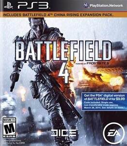 BATTLEFIELD 4 PS3 BRAND NEW AND FACTORY SEALED Cambridge Kitchener Area image 1