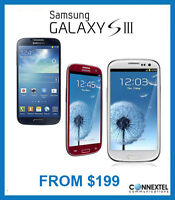 Blue  SAMSUNG S3 from $175 white/ warranty/ wind available t999