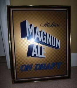 One rare Magnum Ale on Draft beer sign - price lowered