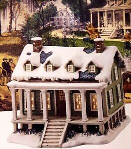 Hand crafted Christmas village collectible house for sale. Kitchener / Waterloo Kitchener Area image 1