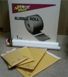 Mailing Tubes, Bubble Mailers, and Bubble Wrap