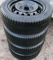 205 55 16 - MICHELIN Xi3 - SNOW TIRES ON RIMS - 5x114.3 CIVIC