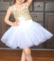 2 Weissman costumes danse neufs pour fille 3-5 ans grandeur XSC