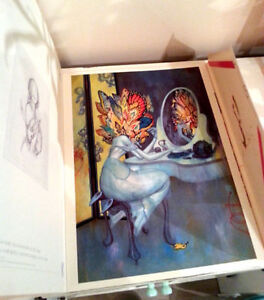 James Jean KINDLING Poster Book Like New, MINT Kitchener / Waterloo Kitchener Area image 3