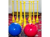 Indoor Skittle Set