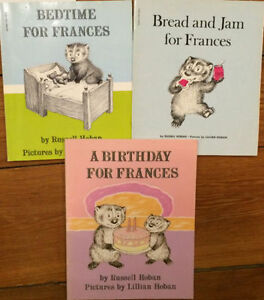 FRANCES BOOKS by Russel Hoben 3 for $10