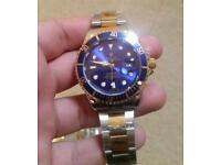 Mens designer Rol X watch