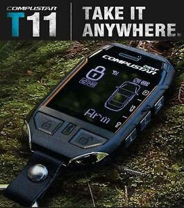 T11 - new 3MILE compustar 2way lcd remote starter &/OR alarm