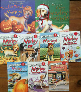 MARLEY AND ME picture books $3 each or all 9 for $20