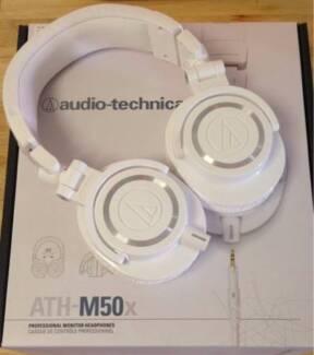 Audio Technica ATH-M50X (White) Melbourne CBD Melbourne City Preview