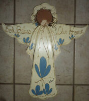 3 Wooden 'Bless Our Home' decors $ 3 each