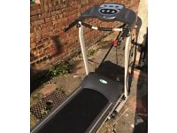 Perfectly Working Black Electrical Treadmill For Sale!