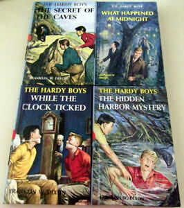 Hardy Boys Books: G&D School/Library Binding, Unmarked Condition
