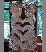 Ice Sculptures for your wedding by ICE TO LIFE!!