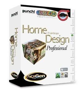 Home & Landscape Design Professional Software *PRICE-DROP*