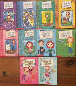 ABBY HAYES chapter books - 10 for $10