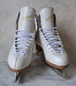 JACKSON NOVICE Ice Figure Skates White Leather Woman Youth S 7