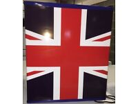 Table Top 48L Mini Fridge- Union Jack