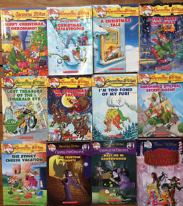 GERONIMO STILTON Books - all 12 for $20