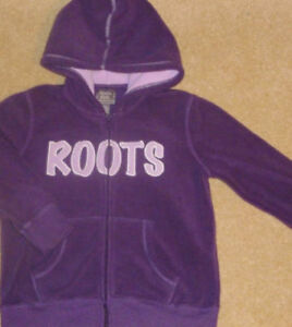+ Roots - Size 7/8 Traditional Full-Zip Hooded Jacket