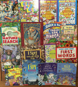 SEARCH AND FIND books! all 16 for $20 London Ontario image 1