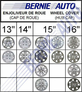 SPECIAL ENJOLIVEURS DE ROUE |  NEW WHEEL COVERS ON SPECIAL=4 PCS