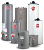 Water Heater Rental - Reduced Rental Rates - FREE installation