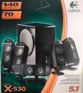 New Logitech 5.1 Speakers Kilsyth Yarra Ranges Preview
