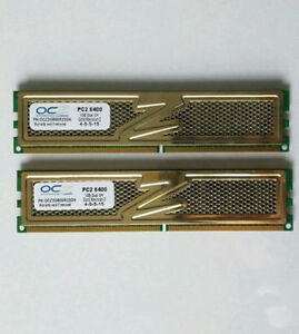 DDR2 1GB 800MHZ PC6400 OCZ GOLD