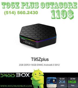 T95Z PRO S912 OCTACORE 8CoeursAndroid TV Box 6 2GBRAM 16GB KODI