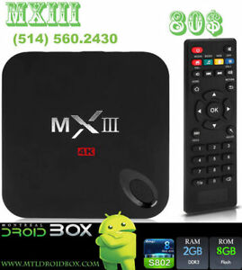 MXIII MX3 ANDROID SMART TV BOX 4.4 QUADCORE S802 2GB RAM KODI