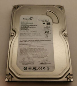 250 GB Seagate Barracuda Hard drive for desktop