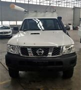 2011 Nissan Patrol GU MY08 DX (4x4) White 5 Speed Manual Coil Cab Chassis Rocklea Brisbane South West Preview