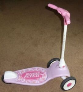Pink Radio Flyer My First Scooter