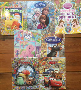 Disney's LOOK AND FIND $3 each or 7 for $15