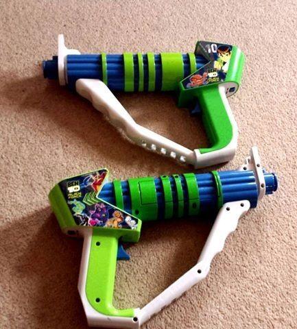 Pair of Ben 10 Laser Guns