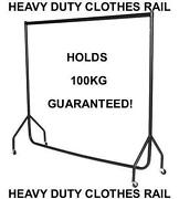 6ft Heavy Duty Clothes Rail