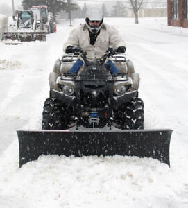 """Eagle ATV Plow System with 60"""" Steel Blade"""