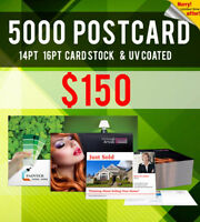 5000 Postcards - Printing - ONLY $150