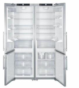 https://aniks.ca/ Liebherr SBS26S1 48in Side-By-Side Refrigerator 26.0 cu. ft