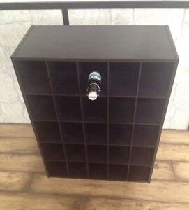 REDUCED 25 slot -- Wine Rack - Office Storage - Shoe Cubby
