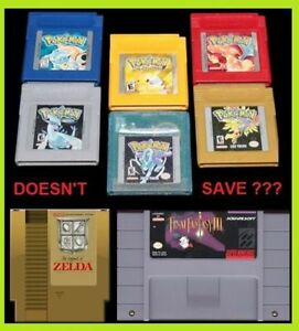 + Old Games dont save anymore? I can help! New Battery Install +
