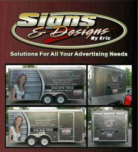 Trailer Wraps, Lettering, Vinyl Graphics, Signs, Decals Windsor Region Ontario image 1
