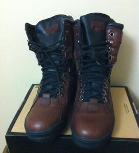 Magnum Hi-Tec Brown Leather Winter Hiking Boots