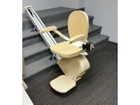 Fully reconditioned Brooks (Acorn) Straight Stairlift. Installation & warranty included