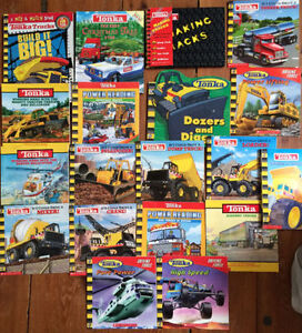 TONKA books $3 each or all 18 for $30