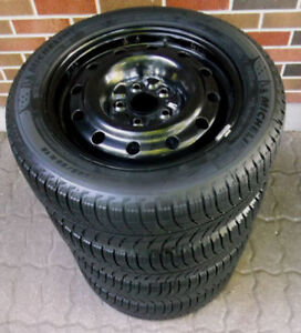 205 55 16 - MICHELIN Xi3 - SNOW TIRES on RIMS - HONDA CIVIC