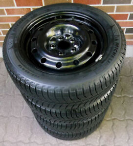 205 55 16 - MICHELIN Xi3 - SNOW TIRES on 5 BOLT - HONDA CIVIC