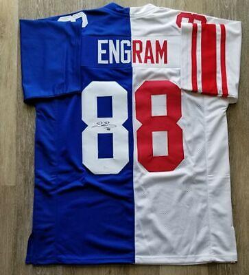 7169742ac7c Evan Engram autographed signed jersey NFL New York Giants JSA COA